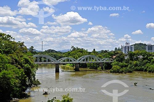 Ponte dos Arcos (1926) sobre o Rio Itajai-Açu  - Indaial - Santa Catarina (SC) - Brasil
