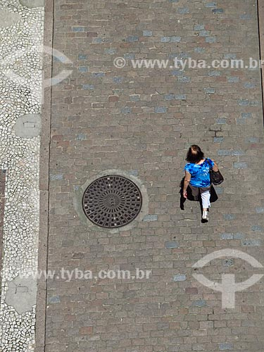 Rua interna da Casa de Cultura Mario Quintana  - Porto Alegre - Rio Grande do Sul (RS) - Brasil