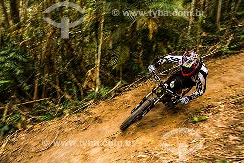 Downhill no distrito de Três Riachos  - Biguaçu - Santa Catarina (SC) - Brasil