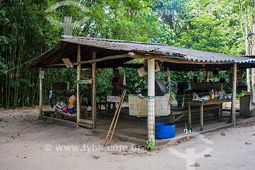 Área de camping na Praia de Martins de Sá  - Paraty - Rio de Janeiro (RJ) - Brasil