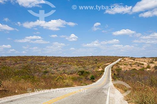 Estrada estadual CE-060  - Itapiúna - Ceará (CE) - Brasil
