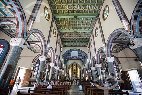 Interior do Santuário de São Francisco das Chagas (1950)  - Juazeiro do Norte - Ceará (CE) - Brasil