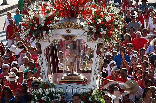 Procissão no festejo do dia de São Sebastião  - Rio de Janeiro - Rio de Janeiro (RJ) - Brasil