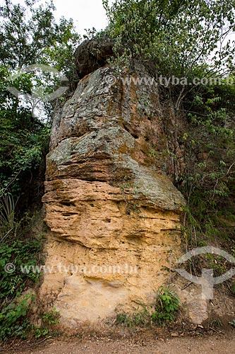 Formação de arenito no Geoparque Araripe  - Nova Olinda - Ceará (CE) - Brasil