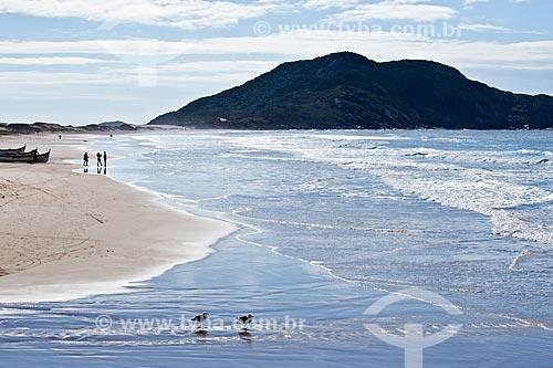 Orla da Praia do Santinho  - Florianópolis - Santa Catarina (SC) - Brasil