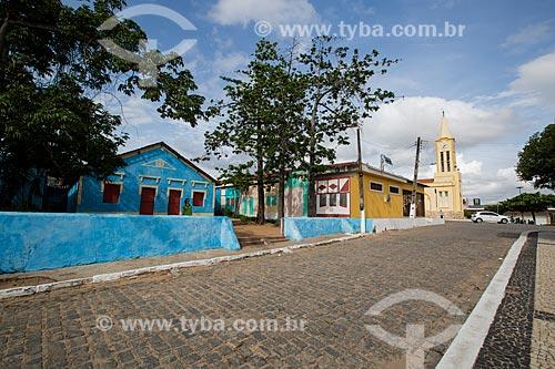 Fachada da Fundação Casa Grande - Memorial do Homem Kariri  - Nova Olinda - Ceará (CE) - Brasil