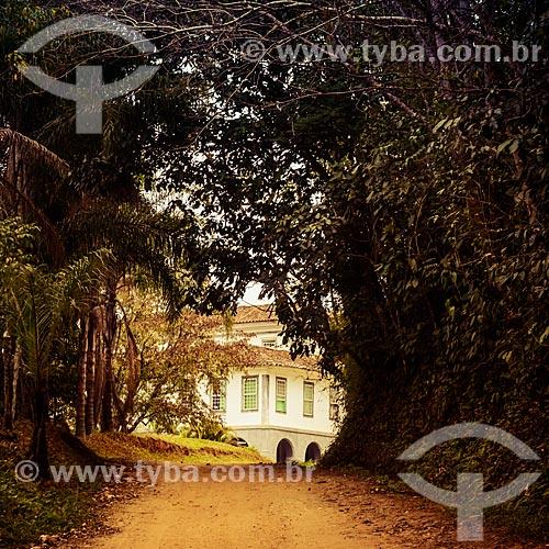 Sede da Fazenda Santa Clara - considerada uma das maiores fazendas do século XIX  - Santa Rita de Jacutinga - Minas Gerais (MG) - Brasil