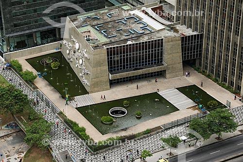 Vista geral do Centro Cultural da Caixa Econômica Federal - Teatro Nelson Rodrigues  - Rio de Janeiro - Rio de Janeiro (RJ) - Brasil