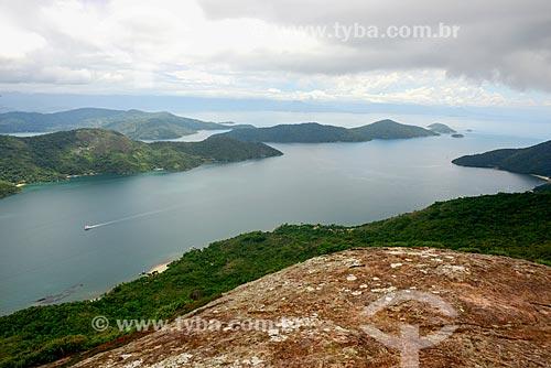 Saco do Mamanguá visto do Pico do Cairuçu (Pico do Pão de Açúcar)  - Paraty - Rio de Janeiro (RJ) - Brasil