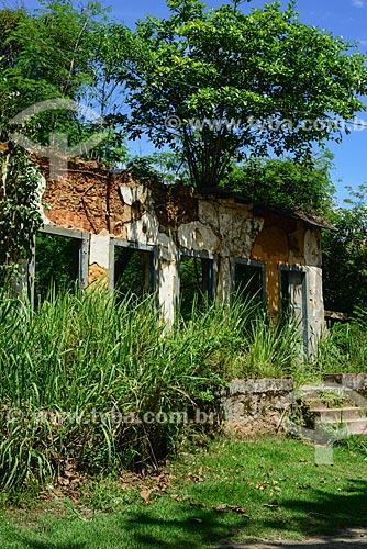 Detalhe de construção em ruínas  - Paraty - Rio de Janeiro (RJ) - Brasil