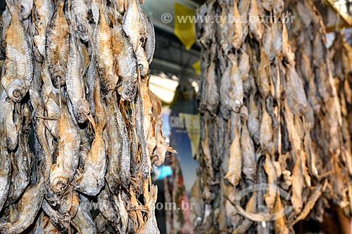 Piabas - também conhecido como aracu - à venda no Centro Luiz Gonzaga de Tradições Nordestinas  - Rio de Janeiro - Rio de Janeiro (RJ) - Brasil
