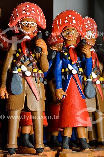 Artesanato em cerâmica à venda no Centro Luiz Gonzaga de Tradições Nordestinas  - Rio de Janeiro - Rio de Janeiro (RJ) - Brasil