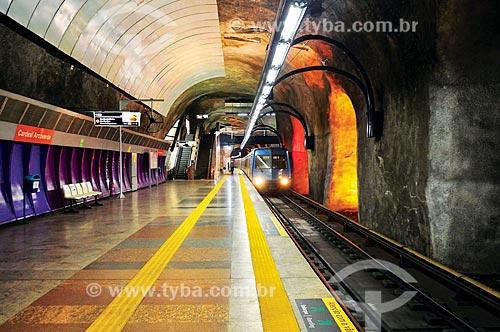 Estação Cardeal Arcoverde do Metrô Rio  - Rio de Janeiro - Rio de Janeiro (RJ) - Brasil
