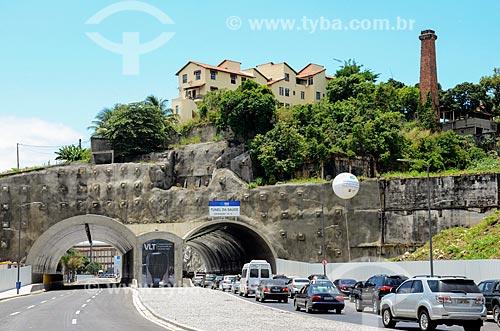 Túnel da Saúde na Via Binário do Porto  - Rio de Janeiro - Rio de Janeiro (RJ) - Brasil