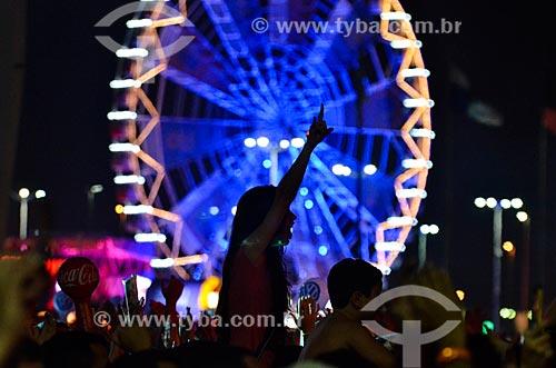 Público no Rock in Rio durante o show do cantor Bon Jovi  - Rio de Janeiro - Rio de Janeiro (RJ) - Brasil
