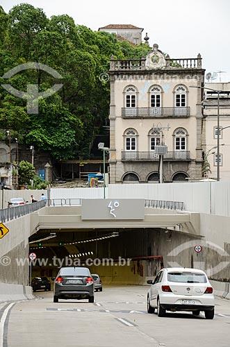 Entrada do Túnel Rio450  - Rio de Janeiro - Rio de Janeiro (RJ) - Brasil