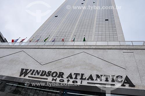 Fachada do antigo Hotel Le Meridien - atual Hotel Windsor Atlântica  - Rio de Janeiro - Rio de Janeiro (RJ) - Brasil