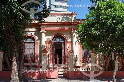 Casario onde funciona a Academia Paraense de Letras  - Belém - Pará (PA) - Brasil