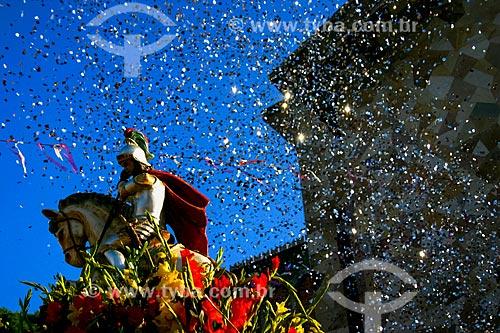 Procissão em celebração à São Jorge na Igreja de São Jorge  - Rio de Janeiro - Rio de Janeiro (RJ) - Brasil