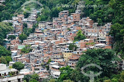 Casas no Morro Chapéu Mangueira  - Rio de Janeiro - Rio de Janeiro (RJ) - Brasil