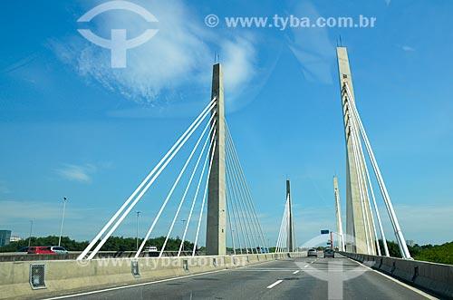 Ponte Cardeal Dom Eugênio de Araújo Sales (2013)  - Rio de Janeiro - Rio de Janeiro (RJ) - Brasil