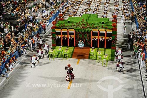 Desfile do Grêmio Recreativo Escola de Samba Acadêmicos do Grande Rio - Comissão de frente - Enredo 2015 - A Grande Rio é do baralho  - Rio de Janeiro - Rio de Janeiro (RJ) - Brasil
