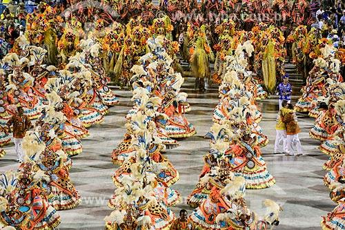 Desfile do Grêmio Recreativo Escola de Samba Beija-Flor de Nilópolis - Ala das Baianas - Enredo 2015 - Um griô conta a história: Um olhar sobre a África e o despontar da Guiné Equatorial. Caminhemos sobre a trilha de nossa felicidade  - Rio de Janeiro - Rio de Janeiro (RJ) - Brasil