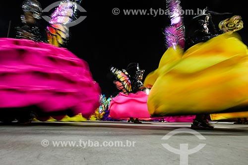 Desfile do Grêmio Recreativo Escola de Samba União da Ilha do Governador - Ala das Baianas - Enredo 2015 - Beleza Pura?  - Rio de Janeiro - Rio de Janeiro (RJ) - Brasil