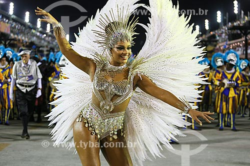 Desfile do Grêmio Recreativo Escola de Samba Unidos da Tijuca - Atriz Juliana Alves - Rainha de Bateria - Enredo 2015 - Um conto marcado no tempo: o olhar suíço de Clóvis Bornay  - Rio de Janeiro - Rio de Janeiro (RJ) - Brasil