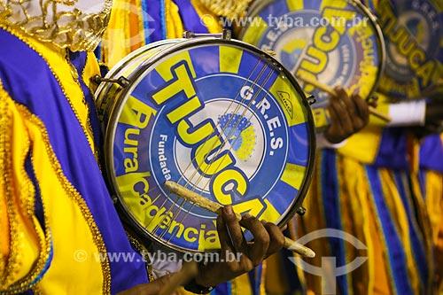 Desfile do Grêmio Recreativo Escola de Samba Unidos da Tijuca - Bateria - Enredo 2015 - Um conto marcado no tempo: o olhar suíço de Clóvis Bornay  - Rio de Janeiro - Rio de Janeiro (RJ) - Brasil