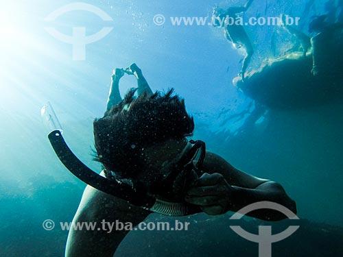 Mergulho próximo às Ilhas Tijucas  - Rio de Janeiro - Rio de Janeiro (RJ) - Brasil