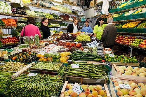 Feira no Mercado Público de Porto Alegre  - Porto Alegre - Rio Grande do Sul (RS) - Brasil