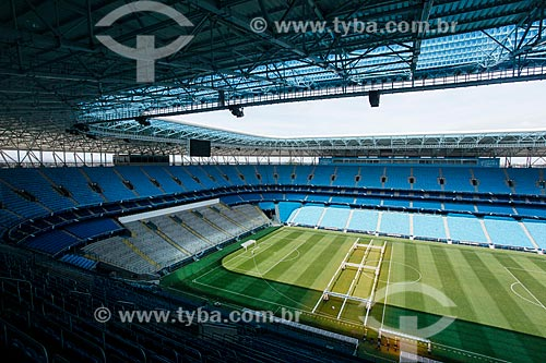 Interior da Arena do Grêmio (2012)  - Porto Alegre - Rio Grande do Sul (RS) - Brasil