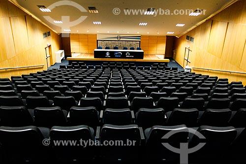 Auditório no interior da Arena do Grêmio (2012)  - Porto Alegre - Rio Grande do Sul (RS) - Brasil