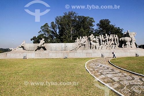 Monumento às Bandeiras  - São Paulo - São Paulo (SP) - Brasil