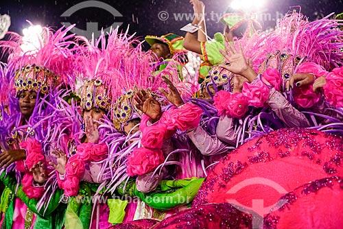 Desfile do Grêmio Recreativo Escola de Samba Estação Primeira de Mangueira - Enredo 2015 - Agora chegou a vez vou cantar: Mulher de Mangueira, Mulher brasileira em primeiro Lugar  - Rio de Janeiro - Rio de Janeiro (RJ) - Brasil