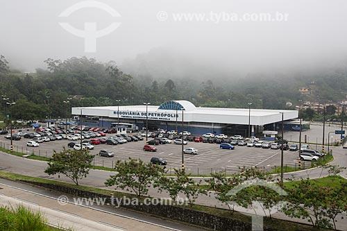 Vista geral do Terminal Governador Leonel Brizola (2005)  - Petrópolis - Rio de Janeiro (RJ) - Brasil