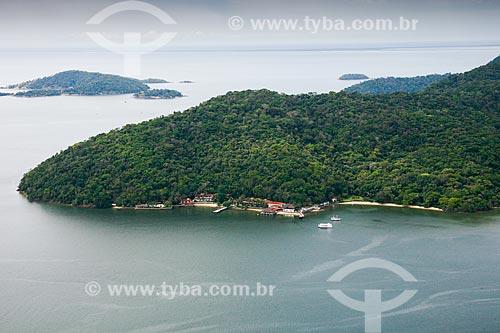 Foto aérea da Ilha de Itacuruçá  - Itaguaí - Rio de Janeiro (RJ) - Brasil
