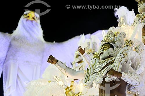 Desfile do Grêmio Recreativo Escola de Samba Portela - Folião - Enredo 2015 - ImagináRIO: 450 janeiros de uma cidade surreal  - Rio de Janeiro - Rio de Janeiro (RJ) - Brasil