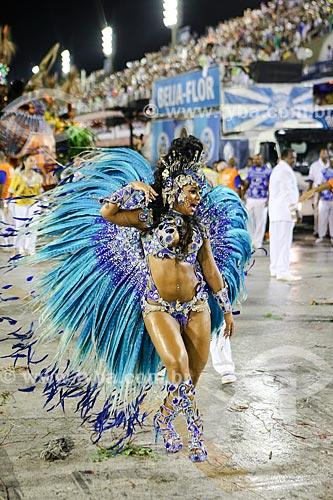 Desfile do Grêmio Recreativo Escola de Samba Beija-Flor de Nilópolis - Raíssa de Oliveira - Rainha de Bateria  - Rio de Janeiro - Rio de Janeiro (RJ) - Brasil