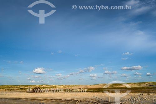 Duna na Barra do Cunhaú  - Tibau do Sul - Rio Grande do Norte (RN) - Brasil