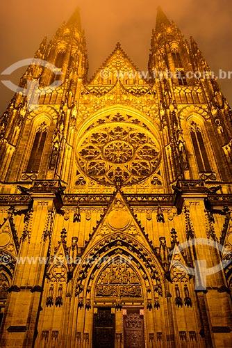 Catedral de São Vito  - Praga - Região da Boêmia Central - República Tcheca