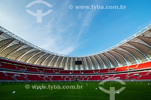 Interior do Estádio José Pinheiro Borda (1969) - mais conhecido como Beira-Rio - após as reformas para a Copa do Mundo no Brasil  - Porto Alegre - Rio Grande do Sul (RS) - Brasil