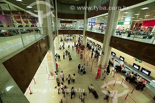 Saguão no Aeroporto Santos Dumont  - Rio de Janeiro - Rio de Janeiro (RJ) - Brasil