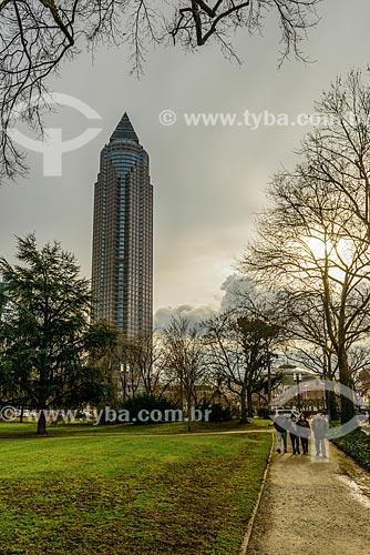 MesseTurm (1990) - com 55 andares é um dos maiores prédios do mundo  - Frankfurt am Main - Hessen - Germany