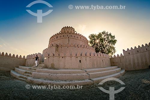 Forte de Al Jaheli  - Al Ain - Abu Dhabi - Emirados Árabes Unidos