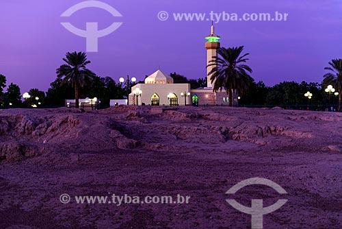 Mesquita no Sítio Arqueológico de Hili  - Al Ain - Abu Dhabi - Emirados Árabes Unidos