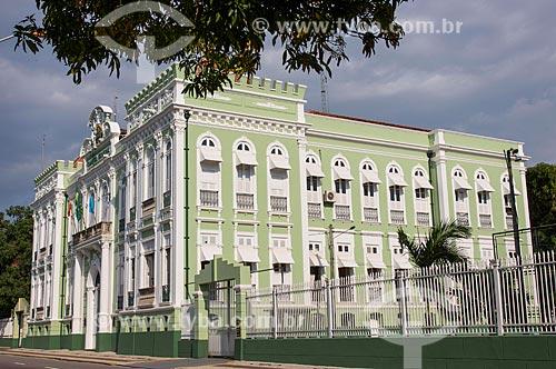 Fachada lateral do Quartel General 8º Regimento Militar em Belém  - Belém - Pará (PA) - Brasil