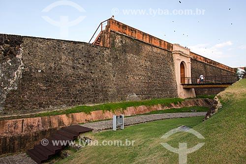 Forte do Castelo do Senhor Santo Cristo (1616) - também conhecido como Forte do Castelo ou Forte do Presépio na margem da foz do Rio Guamá - Baía do Guajará  - Belém - Pará (PA) - Brasil