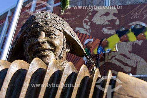 Estátua de Luiz Gonzaga - Centro Luiz Gonzaga de Tradições Nordestinas  - Rio de Janeiro - Rio de Janeiro (RJ) - Brasil